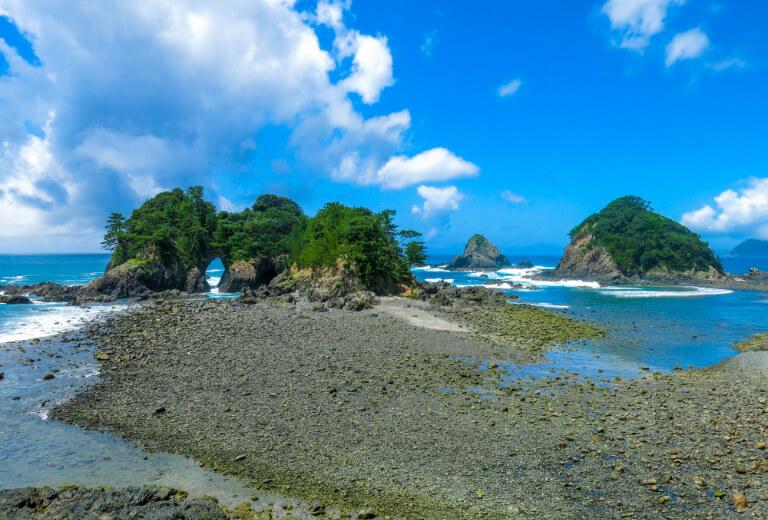 Kashinishi coast