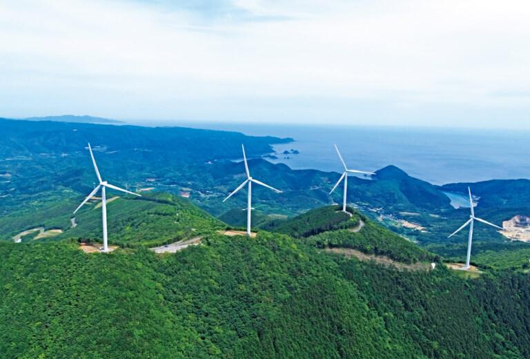 Ohorayama Wind Farm